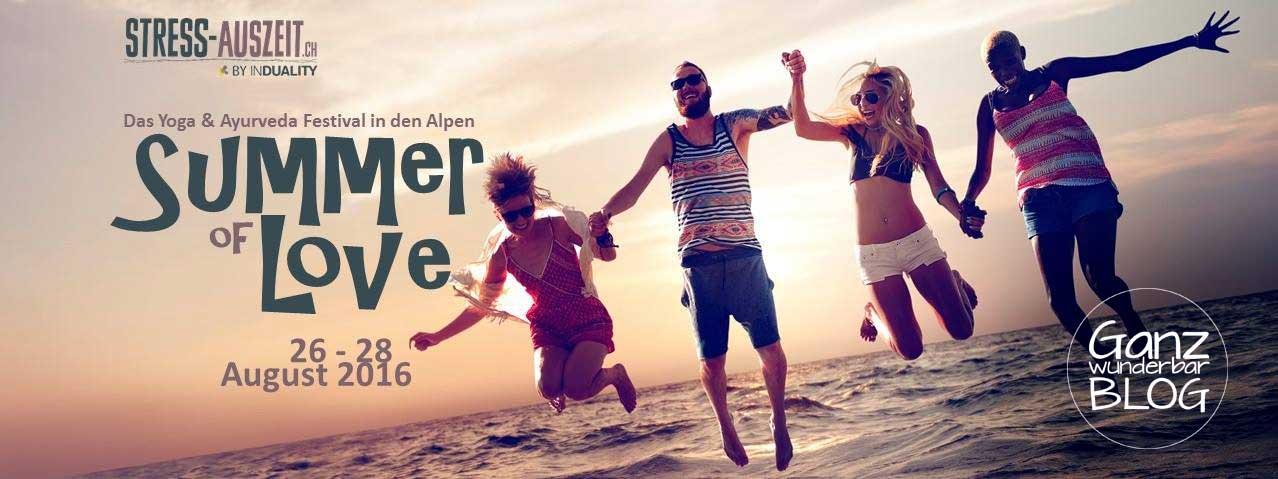 Yogafestival in den Bergen: Summer of Love