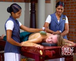 Ayurveda-Kur in Indien