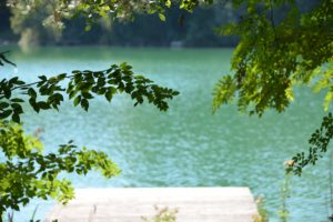 Yoga und frische Luft im Erzgebirge