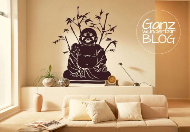 Wandtattoo_Buddha_Bambus