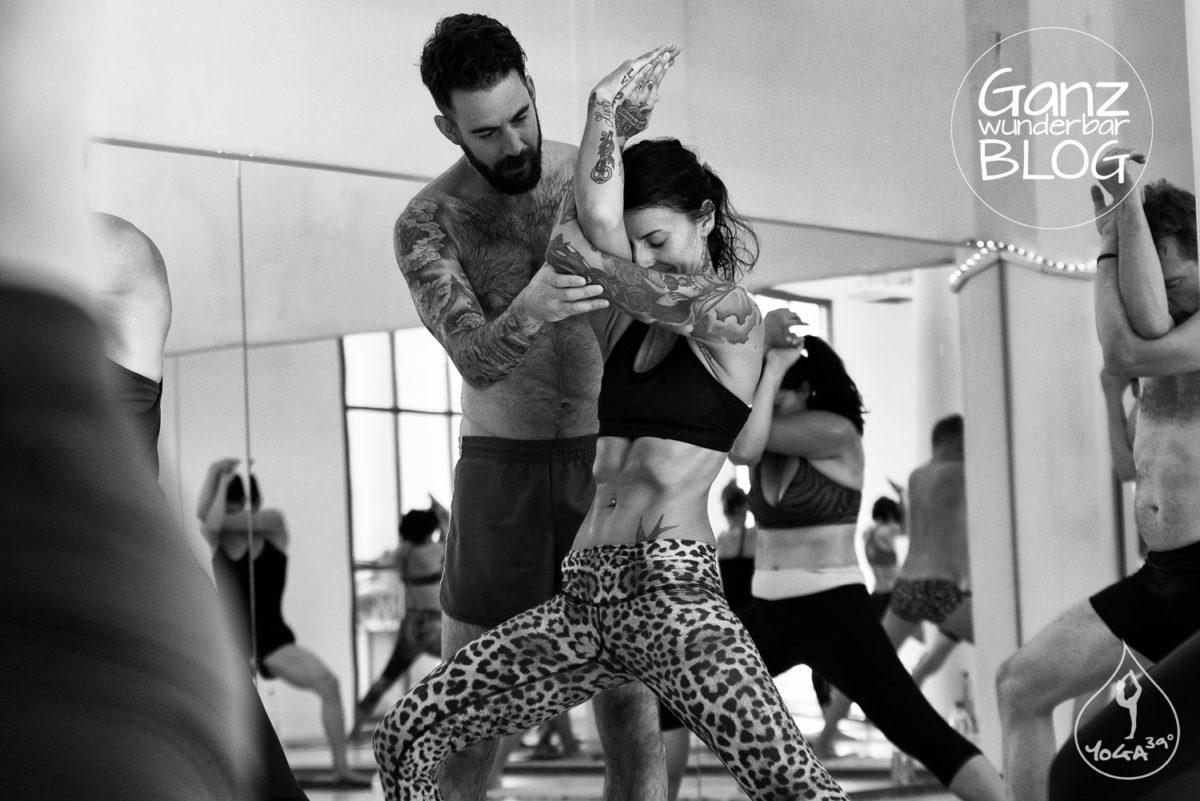 Yoga-Workshop mit Benjamin Sears