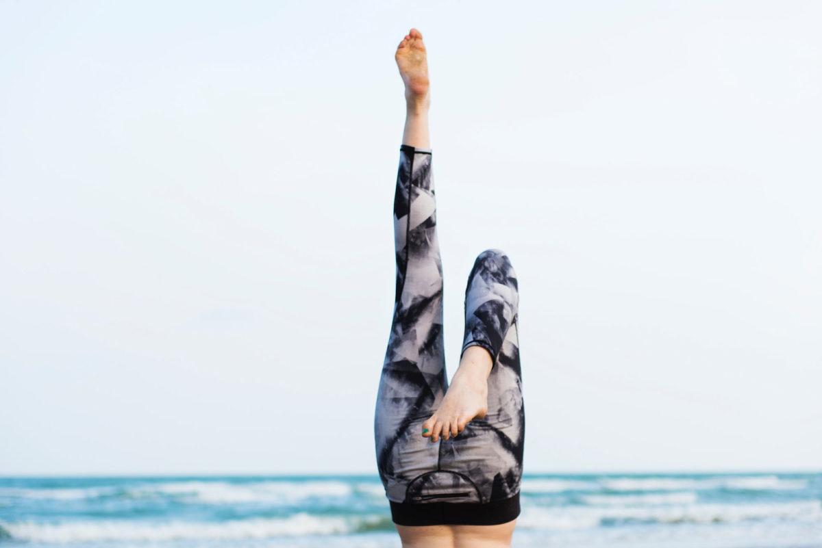 Elegante, transparente Yogapants