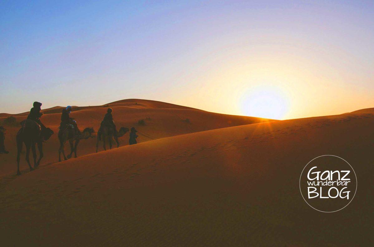Wüstenyoga