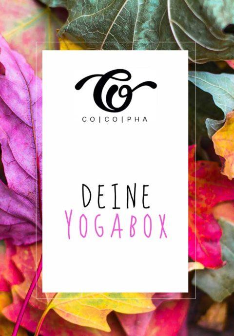 Pflegen, Cremen – Glücklich sein · Yogabox von COCOPHA