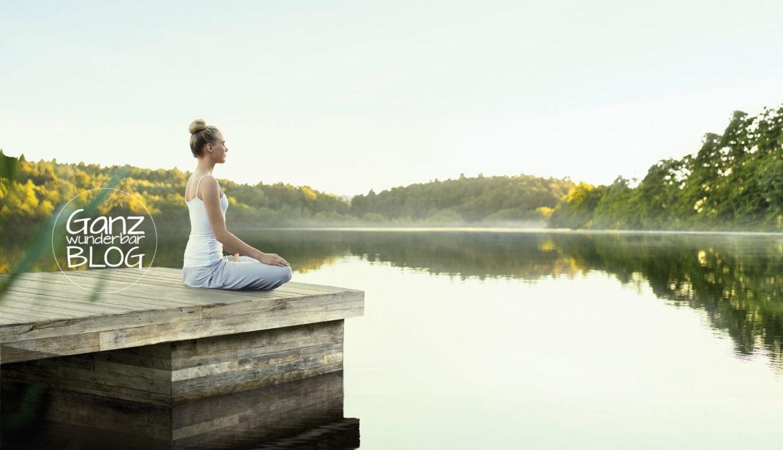 Ruhe und Kraft atmen
