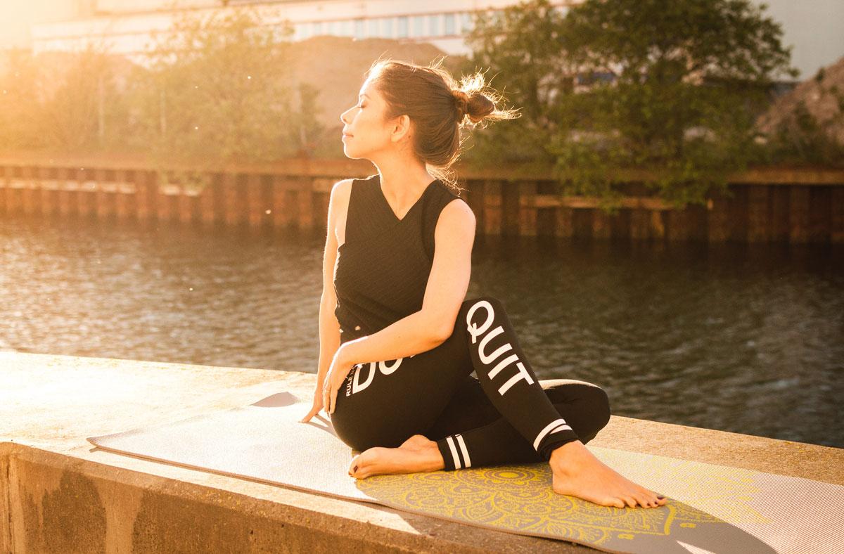 Yoga und Selbstannahme