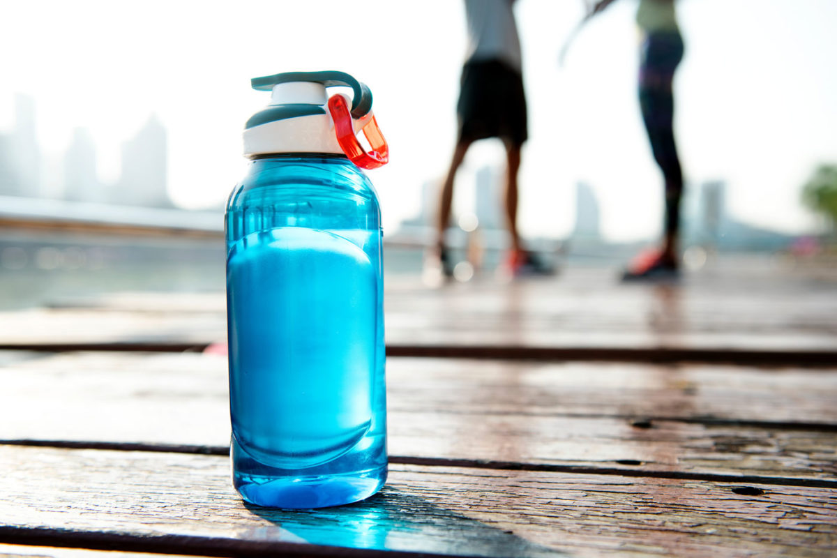 Gefiltertes Trinkwasser