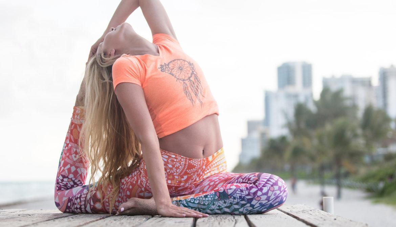 Om Shanti – Yoga Pants mit tollen Prints