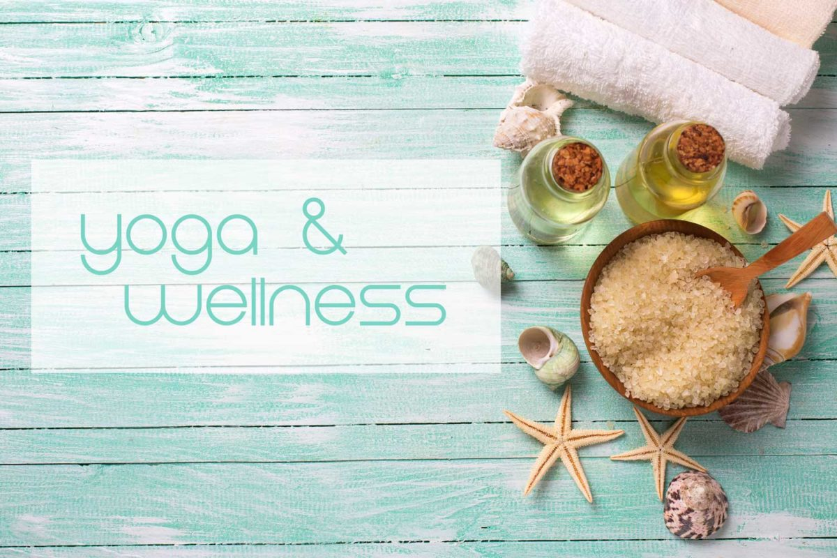 Yogaurlaub und Wellness