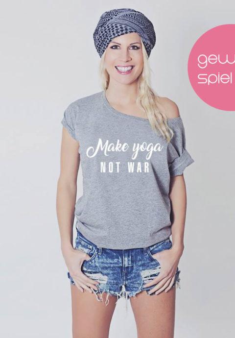 Hippie Love – Make yoga not war