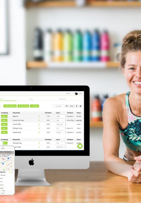 Yoga Studio effizienter managen und verwalten