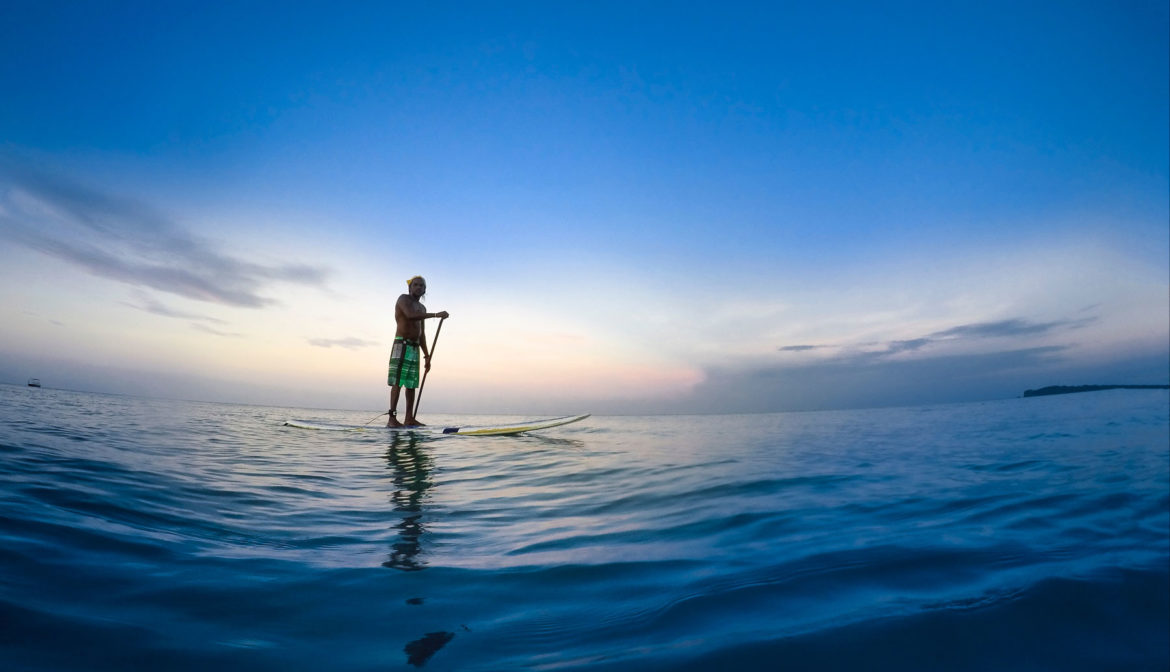 Yogaurlaub und Stand Up Paddling SUP · Yoga Vacation and Stand Up Paddling SUP
