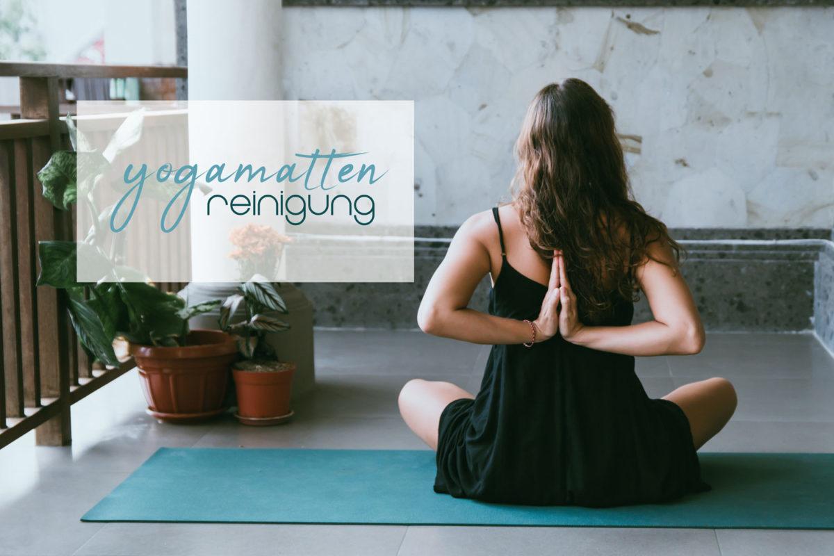 Yogamatte Reinigung