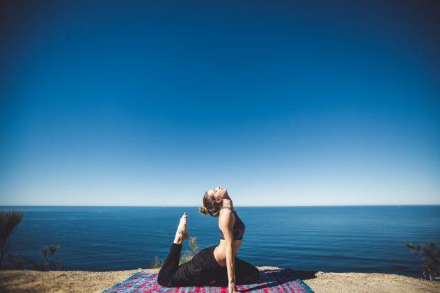 Yoga und Surfen auf Sylt