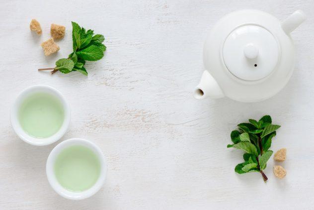 Grüner Tee Antioxidantien