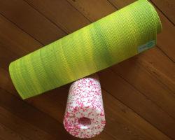 Übungen mit der Faszienrolle gegen Schmerzen