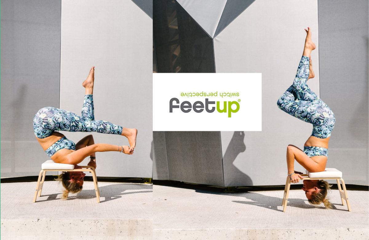 Yoga Kopfstand Hocker