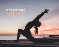 My yoga · Yoga und die Religion! Was bedeutet Yoga für mich?