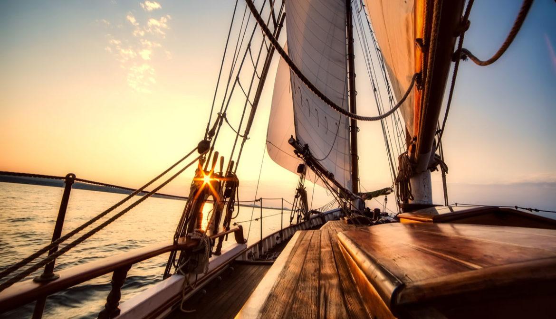 I am sailing · Yoga und Segelurlaub