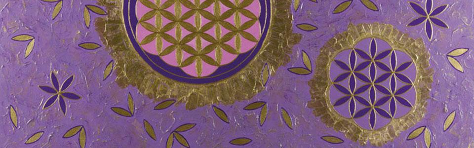 """Blockade lösen mit einem Energiebild """"Blume des Lebens"""""""