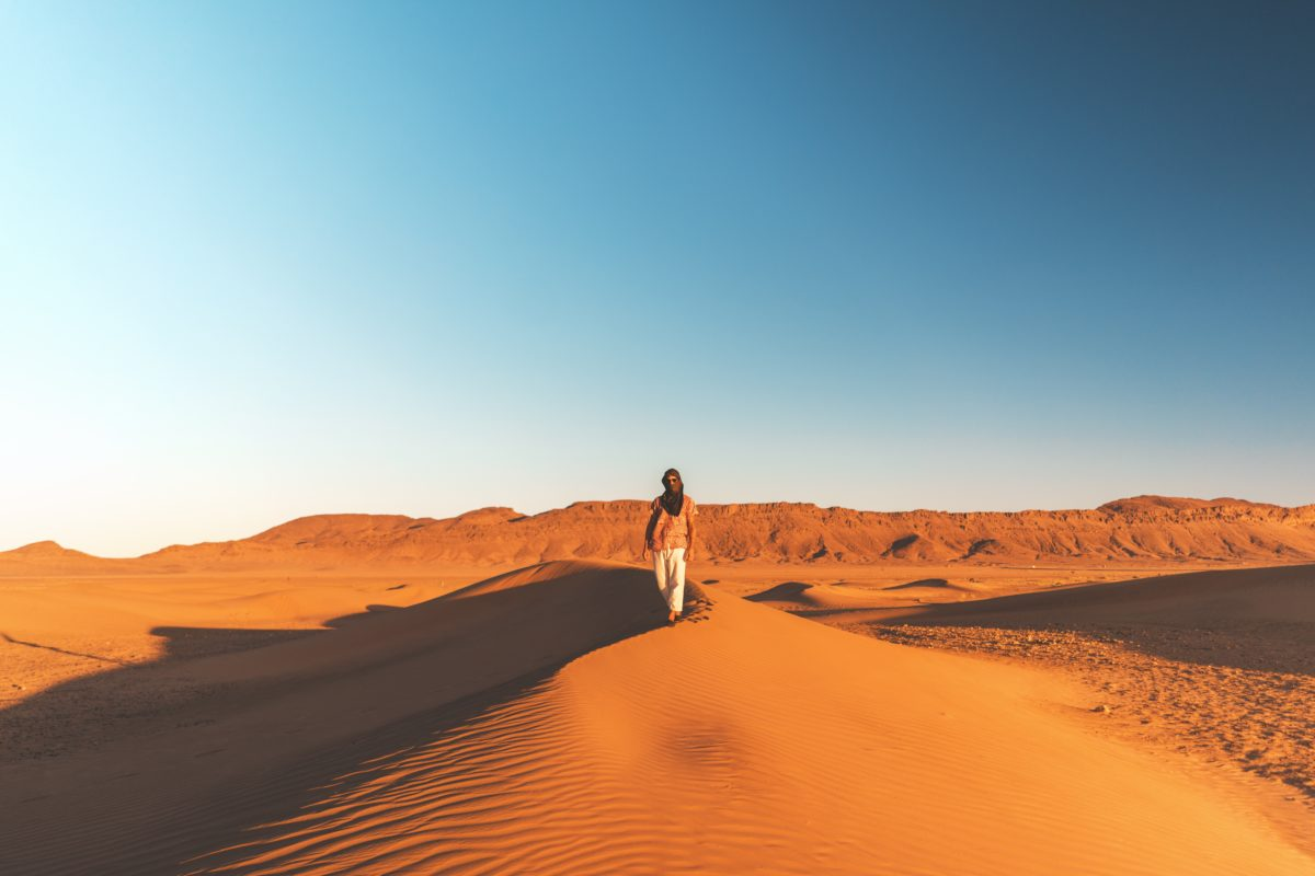 Wüsten Yoga Urlaub in Marokko
