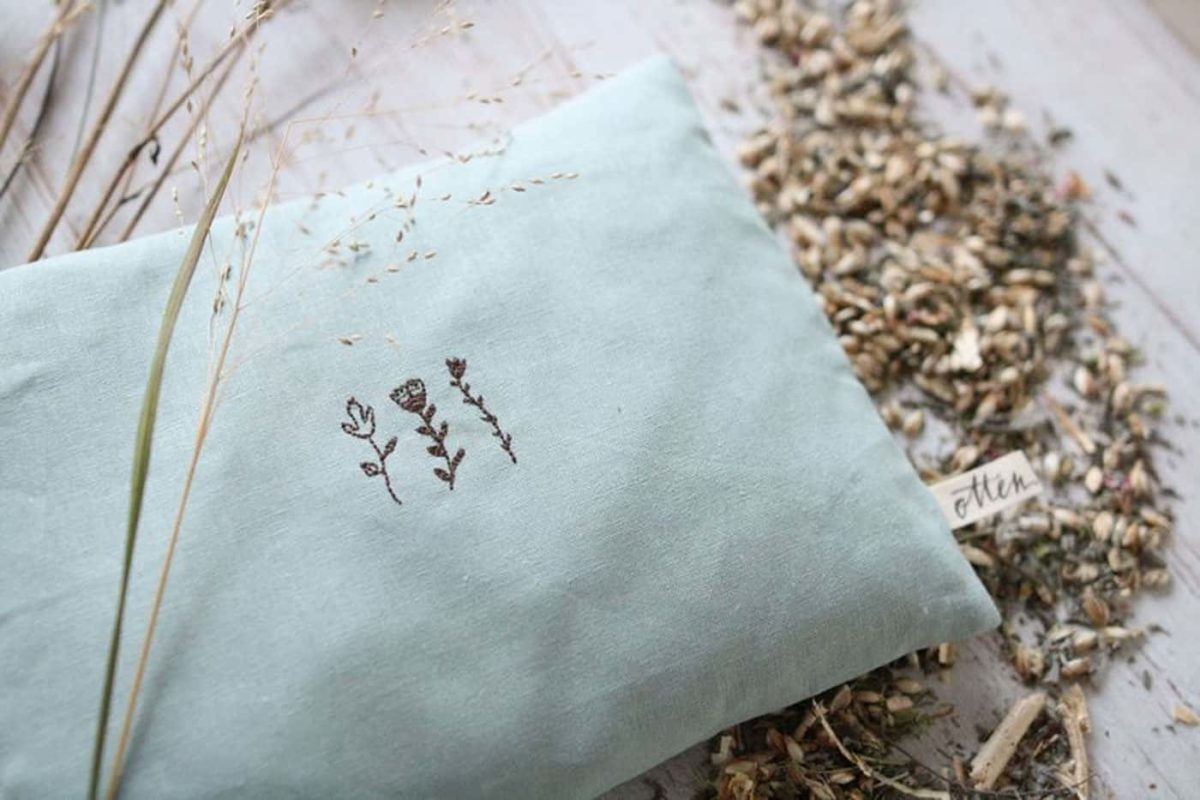 Der Duft von Heilkräutern in deinem Yogakissen