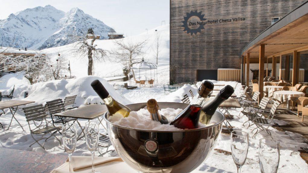 Skiurlaub im Naturhotel Chesa Valisa