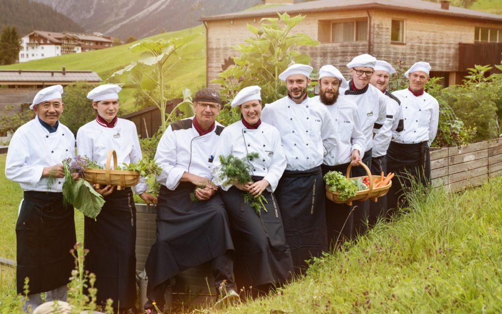 Gesunde ayurvedische Ernährung im Naturhotel Chesa Valisa