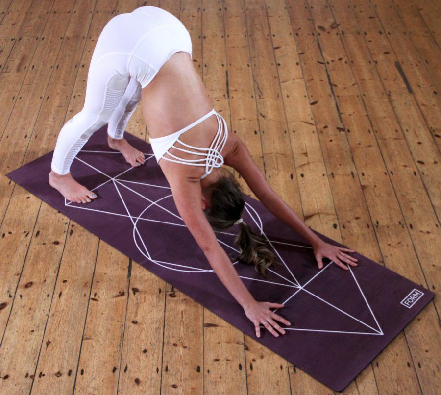 Finde deine Naturkautschuk Yogamatte