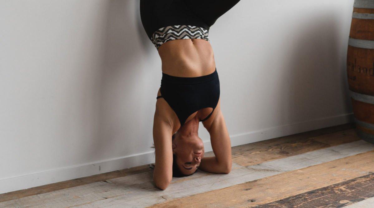 Yoga Kopfstandhocker