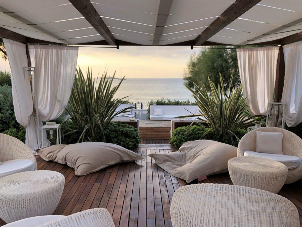 Lounge Sonneninsel zum Entspannen