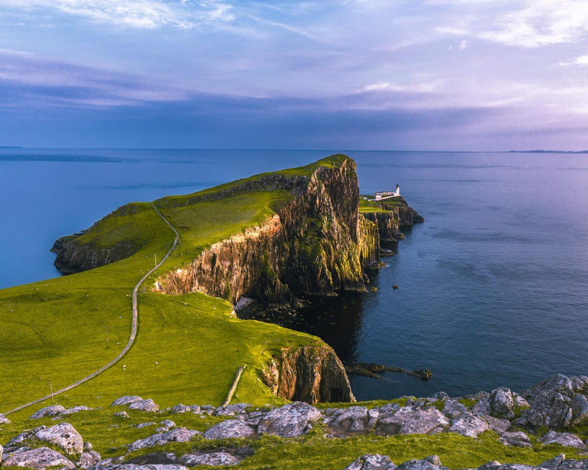 Yoga Urlaub und Waldtherapie in Schottland
