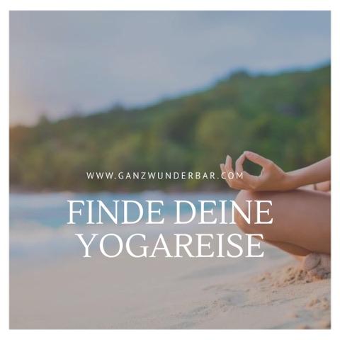 Finde deine Yogareise