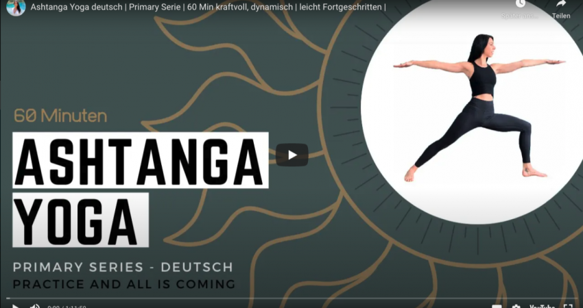 1 Stunde Ashtanga Yoga kostenlos